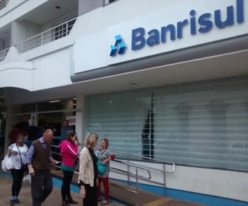 Sindicato dos bancários de São Borja acompanha situação do Banrisul