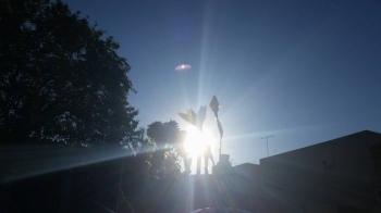 Sol predomina e temperatura se eleva ao longo do dia