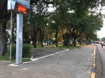 Fim de semana será de frio em São Borja