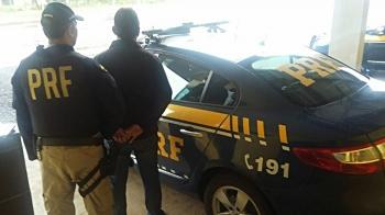 PRF prende foragido por tráfico em São Borja
