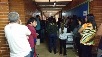 Filas e alta abstenção marcam a eleição em São Borja