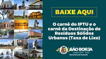 Prefeitura divulga calendário de pagamento do IPTU em 2019