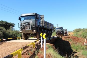 Prefeitura e Exército concluem obras na Ponte da Estivinha