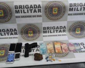 Homem é preso em flagrante por tráfico de drogas