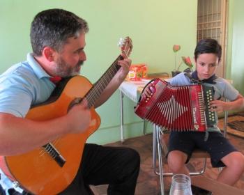 Um regalo para a música de São Borja