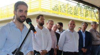 Governo do Estado e Prefeitura inauguram nova ETE em São Borja