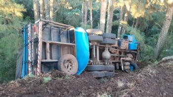 Acidente deixa condutor gravemente ferido em Jaguari