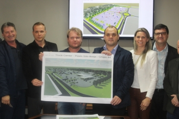 Prefeitura anuncia investimento na Plataforma Logística