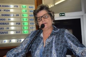 Sandra Marques é uma das vozes da saúde na Câmara