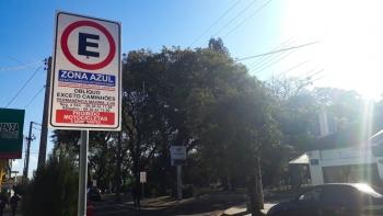 Estacionamento no perímetro urbano conta com mudança a partir desta segunda