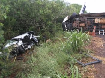 Colisão frontal resulta em vítima fatal em São Borja