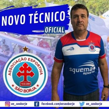 AESB apresenta o técnico que comandará o time na Segundona