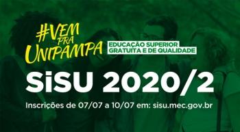 Universidade Federal do Pampa oferta 145 vagas de graduação para o segundo semestre de 2020