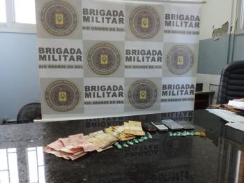 Duas mulheres são presas em flagrante na tarde desta quinta-feira em São Borja