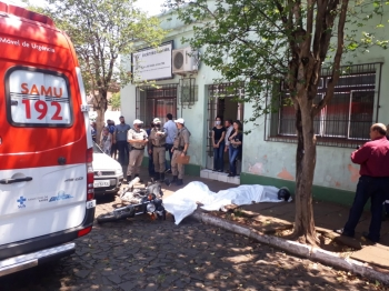 Tentativa de assalto termina em dois assaltantes mortos no final desta manhã em São Borja