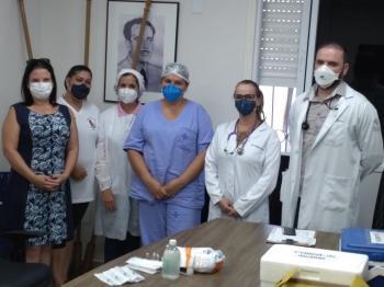 São Borja recebe 607 doses de vacina e dá início à imunização de grupo prioritário nesta terça-feira, dia 19