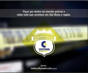 Mulher esfaqueada pelo companheiro morre na manhã desta segunda-feira em São Borja