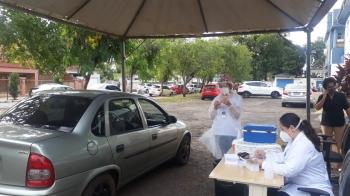Vacinação contra a Covid-19 segue na Central de Vacinas em São Borja