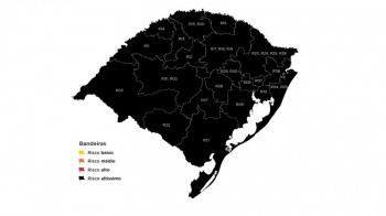 Todas regiões do RS permanecem em bandeira preta por mais uma semana