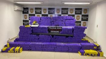 Polícia Civil apreende cerca de R$3milhões em maconha no município de Taquara
