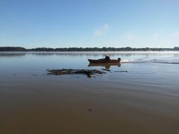 Corpo de Bombeiros encerra as buscas sem localizar o homem desaparecidos nas águas do rio Uruguai